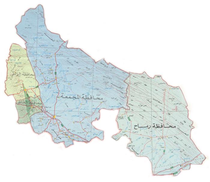 الخارطة الرقمية Majmaah University