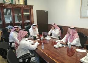 مكتب إدارة المشاريع يعقد ورشة عمل مع الادارة العامة للمشروعات