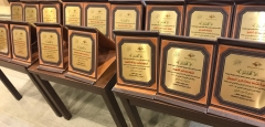 حضور وتكريم الفائزين بمسابقة حفظ القرآن والسنة النبوية